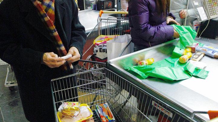 Москвичи делают покупки к новогоднему столу