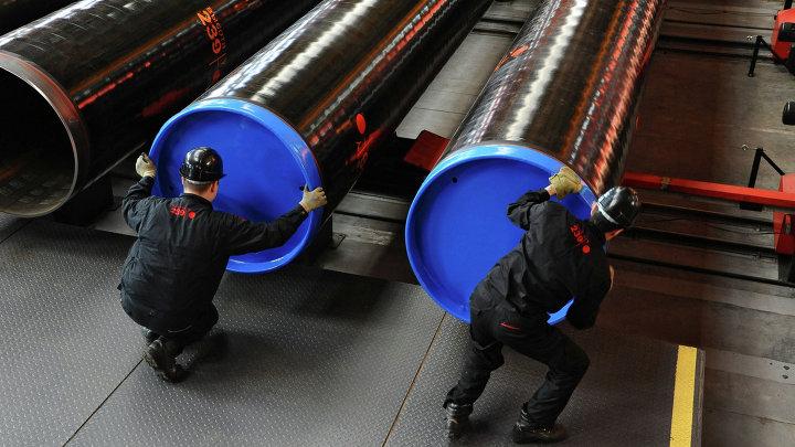 """Производство труб большого диаметра """"Высота 239"""" на Челябинском трубопрокатном заводе"""