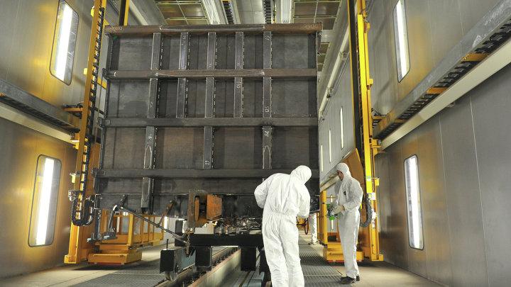 Группа ИСТ открыла Тихвинский вагоностроительный завод в Ленинградской области