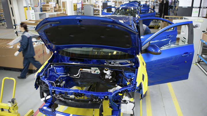Старт серийного производства Chevrolet Aveo в Нижнем Новгороде