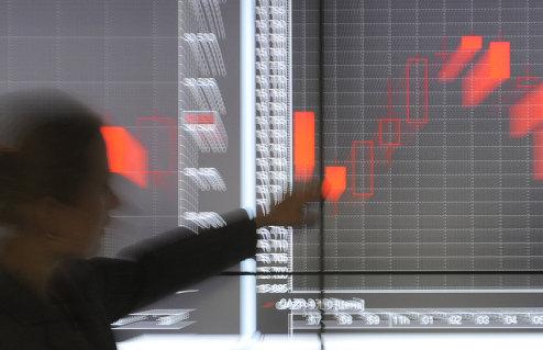 Работа нового офиса фондовой биржы РТС