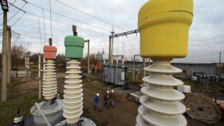 Открытие электроподстанции в поселке Борисово Открытие электроподстанции в поселке Борисово
