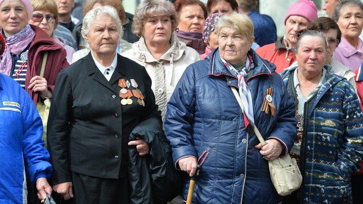 Открытие Памятника труженикам тыла в Челябинске