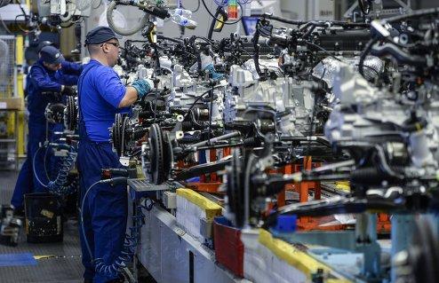 Церемония выпуска 1,5 млн. автомобиля на заводе компании Hyundai Motor в Санкт-Петербурге