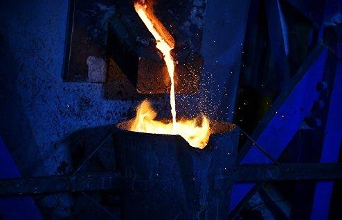 Частный завод по переработке меди и алюминия в пригороде Хомса