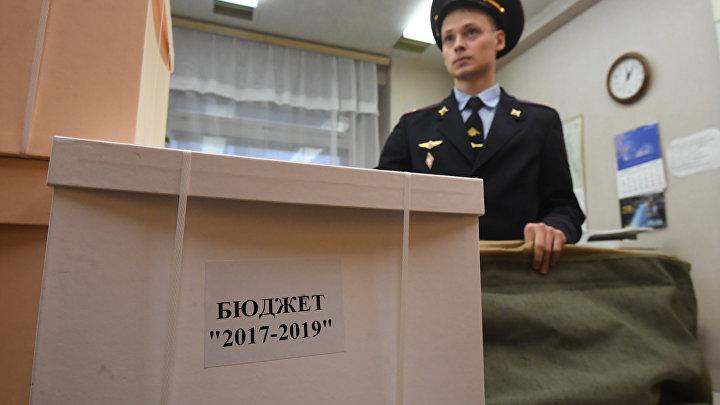 Правительство РФ внесло в Госдуму РФ проект федерального бюджета на 2017-2019 годы