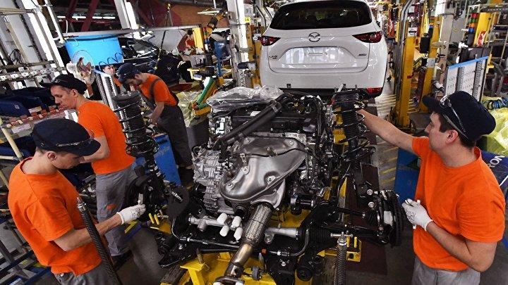 Производство автомобилей Mazda во Владивостоке