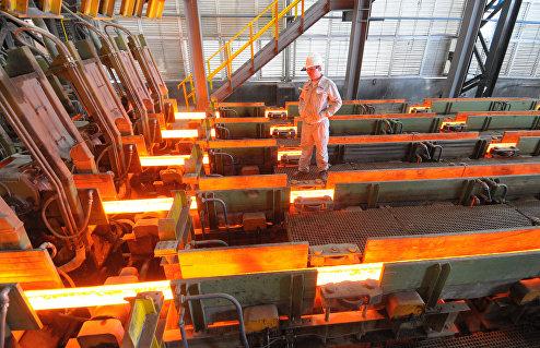 Работа Первоуральского новотрубного завода