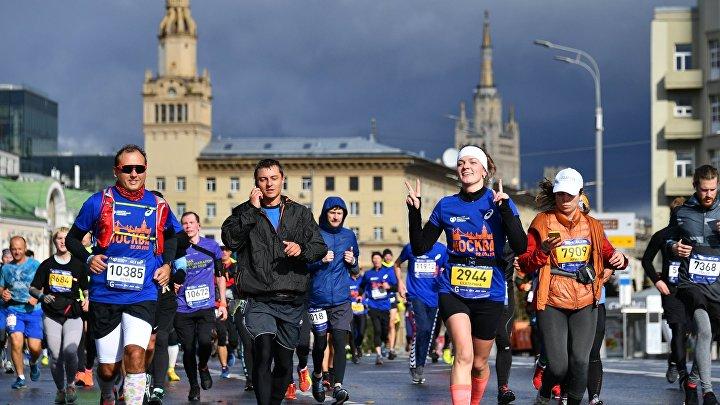 VII Московский марафон
