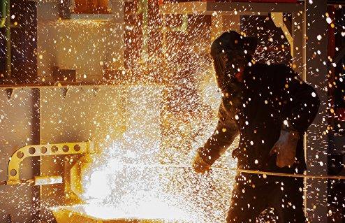Запуск металлургической печи