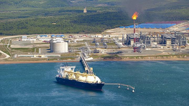 Завода по производству сжиженного природного газа