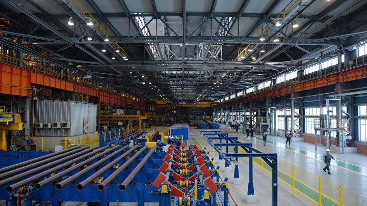 Ввод в эксплуатацию нового комплекса термообработки труб в Свердловской области