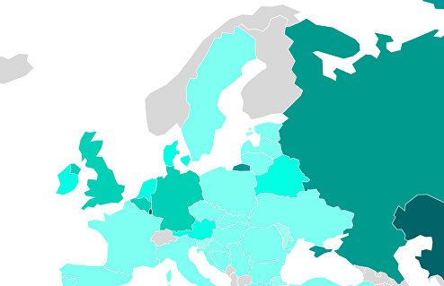 Рейтинг стран по доступности природного газа для населения – 2020