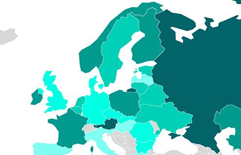 Рейтинг стран Европы по строительству жилья
